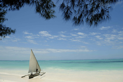 Relax on the beautiful beaches of Zanzibar with the warm Indian Ocean water lapping at your toes