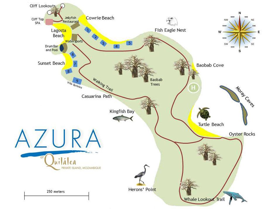 Quilalea Island Lodge Mozambique
