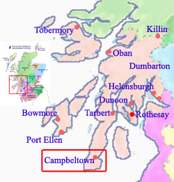 Welcome to Campbeltown Scotland hotels, holidays and accommodation