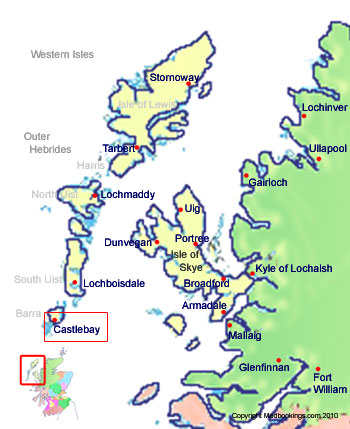 Welcome To Castlebay Scotland Hotels Holidays And