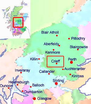 Welcome to Crieff Scotland hotels, holidays and accommodation by