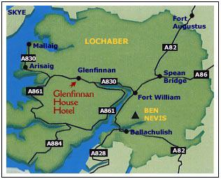Lochaber Scotland Map.Welcome To Glenfinnan House Hotel Glenfinnan Scotland By Madbookings