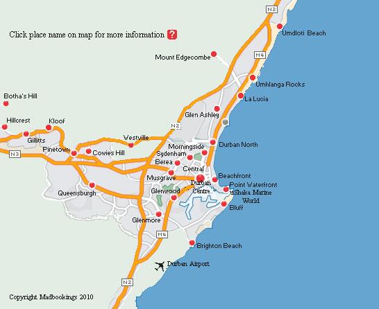Durban Kwazulu Natal South Africa Southern Africa