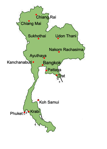 Lopburi Thailand Map.Lopburi Hotel And Accommodation Guide Places To Stay In Lopburi Thailand